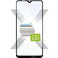 FIXED FullGlue-Cover pro Samsung Galaxy A10s lepení přes celý displej černé - Ochranné sklo