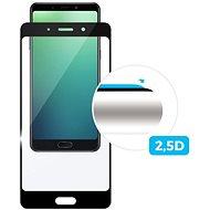 FIXED Full-Cover pro Nokia 7 přes celý displej černé - Ochranné sklo