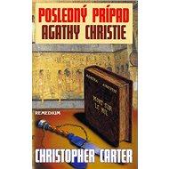Posledný prípad Agathy Christie - Kniha