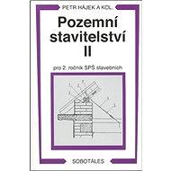 Pozemní stavitelství II pro 2. ročník SPŠ stavebních - Kniha