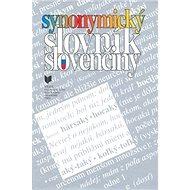 Synonymický slovník slovenčiny - Kniha