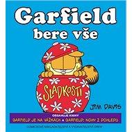 Garfield bere vše - Kniha