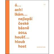 Nejlepší české básně 2014 - Kniha