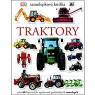 Samolepková knížka Traktory - Kniha