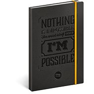 Notes motivační linkovaný - Kniha