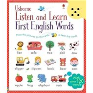 Listen and Learn First English Words: With over 120 words - Kniha