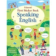 First Sticker Book Speaking English - Kniha
