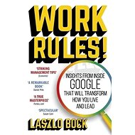 Work Rules!: Insights from Inside Google That Will Transform How You Live and Lead - Kniha