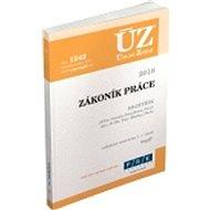 ÚZ 1242 Zákoník práce 2018, rejstřík - Kniha