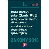 Zákony 2018 I. časť B - Kniha