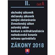 Zákony 2018 II. časť A - Kniha