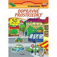 Dopravné prostriedky s 50 samolepkami - Kniha
