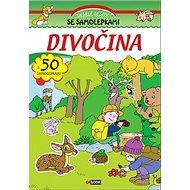 Divočina s 50 samolepkami - Kniha