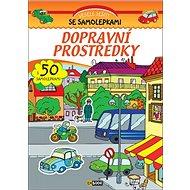 Dopravní prostředky s 50 samolepkami - Kniha