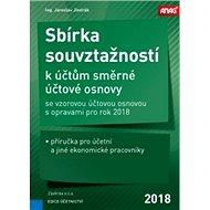 Sbírka souvztažností k účtům 2018 - Kniha
