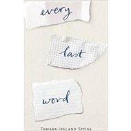Every Last Word - Kniha