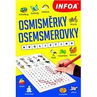 Osmisměrky/Osemsmerovky Angličtina - Kniha