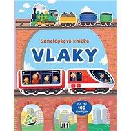 Samolepková knížka Vlaky - Kniha