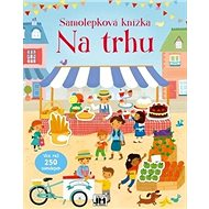 Samolepková knížka Na trhu - Kniha
