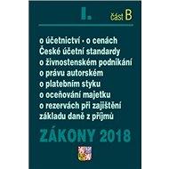 Zákony 2018 I. část B - Kniha
