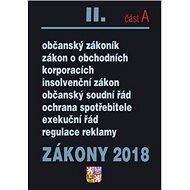 Zákony 2018 II. část A - Kniha