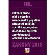 Zákony 2018 III. - Kniha
