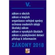 Zákony 2018 V. - Kniha