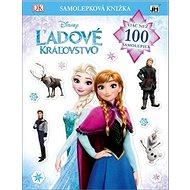 Ľadové kráľovstvo Samolepková knižka - Kniha