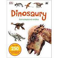 Dinosaury Samolepková knižka - Kniha