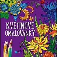 Květinové omalovánky - Kniha