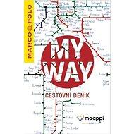 My Way Cestovní deník vzor maappi - Kniha