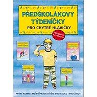 Předškolákovy týdeníčky pro chytré hlavičky: První komplexní příprava dítěte pro školu i pro život! - Kniha