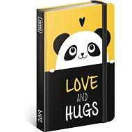 Týdenní diář Panda 2019 - Kniha