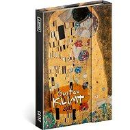 Týdenní magnetický diář Gustav Klimt 2019 - Kniha