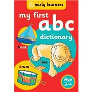 My First ABC Dictionary: Age 3-4 - Kniha
