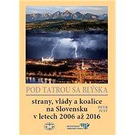 Pod Tatrou sa blýska: Strany, vlády a koalice na Slovensku v letech 2006 až 2016 - Kniha