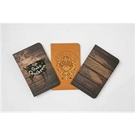 Harry Potter: Diagon Alley Pocket Notebook Collection (Set of 3) - Kniha