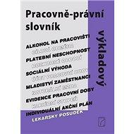 Pracovně-právní výkladový slovník - Kniha