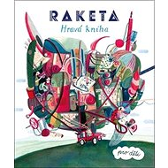 Raketa Hravá kniha pro děti - Kniha