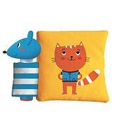 Pískací knížka se zvířatky Kočka a myš: Pískacia knižka so zvieratkami Mačka a myš - Kniha
