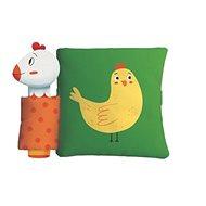 Pískací knížka se zvířatky Slepice a její kuřátko: Pískacia knižka so zvieratkami Sliepka a jej kuri - Kniha