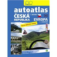 Autoatlas Česká republika + Evropa: 1:240 000 / 1:4 000 000