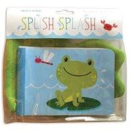Dětská knížka do koupele Cáky Cák: Detská knižka do kúpeľa/do vane Čľup Čľup - Kniha