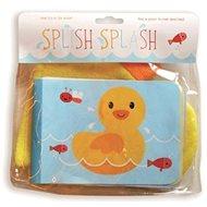 Dětská knížka do koupele Cáky Cák: Detská knižka do kúpeľa/do vane Čľup Čľup