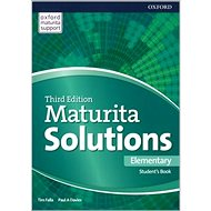 Maturita Solutions 3rd Edition Elementary Student's Book: Czech Edition - Kniha