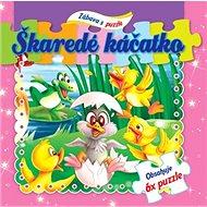 Škaredé káčatko Zábava s puzzle: Obsahuje 6x puzzle - Kniha