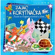 Zajac a korytnačka Puzzle na rozvíjanie pozornosti a učenie: Obsahuje 6x puzzle - Kniha