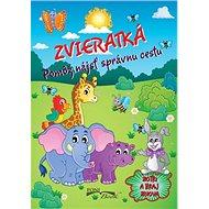 Zvieratká Pomôž nájsť správnu cestu: Zotri a hraj znova - Kniha