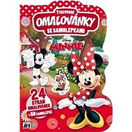 Shaped colouring book with Minnie stickers - Creative Kit