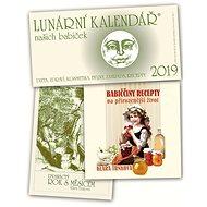 Lunární kalendář 2019 + Babiččiny recepty + Dvanáctý rok s Měsícem - Kniha
